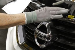 The Nissan Altima ranks No. 1 on the list of 2017's models that thieves want to snag. (AP Photo/Rogelio V. Solis, File)