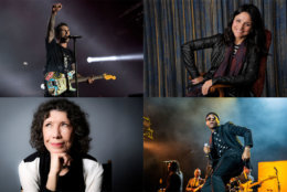 Maroon 5, Julia Louis-Dreyfus, Leon Bridges and Lily Tomlin area ll coming to D.C. in October. (WTOP collage via AP)
