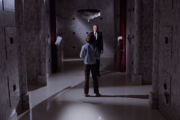 "The Tall Man confronts young Mike in ""Phantasm."" (Courtesy Silver Sphere Productions)"