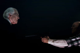 "The Tall Man and Reggie confront each other for a series-first in ""Phantasm: Ravager."" (Courtesy Silver Sphere Productions)"