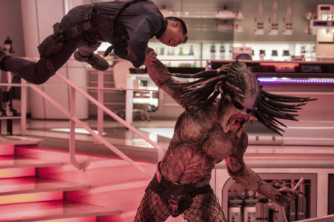 Movie Review: 'The Predator' stumbles out of the jungle and into the suburbs