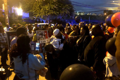 DC community holds vigil for teen killed while he was walking to a store