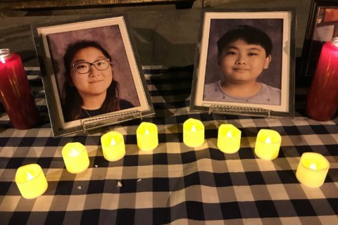 2 kids lost to Montgomery Co. murder-suicide remembered at vigil