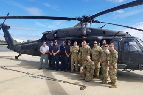 Md. helicopter rescue team heads to flood-ravaged N. Carolina