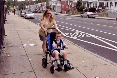 Mom asks thief to return 8-year-old's wheelchair stolen from outside their home