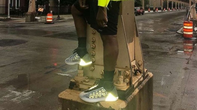 341609c93be NBA plans to ban Kanye West s Yeezy basketball sneaker