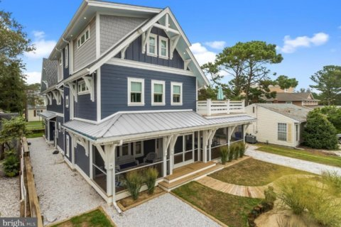 Practically new, 8BR Dewey Beach home listed for $2.55M