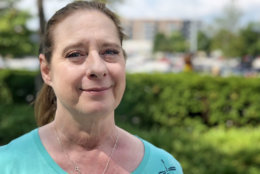 Jeanette Simpson of Ellicott City says the environment and pollution are issues that concern her—along with education. (WTOP/Kate Ryan)