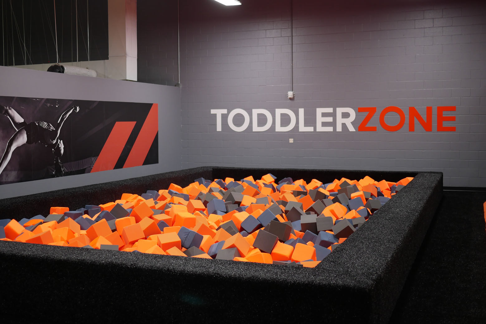 A space for the little ones at Sky Zone. (Courtesy Sky Zone)