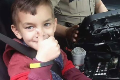 Seven-year-old boy gets police escort to final cancer treatment