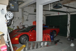 The Savopoulos family's red Mosler sports car. Savvas Savopoulos instructed his assisant to leave the $40,000 ransom inside the car. (Courtesy U.S. Attorney's Office for D.C.)