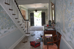 The entryway to the Savopoulos house. (Courtesy U.S. Attorney's Office for D.C.)