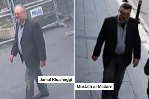 Surveillance footage shows Saudi operative in Khashoggi's clothes after he was killed, Turkish source said
