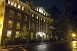 Halcyon House, 3400 Prospect Street in Georgetown, is said to be haunted.