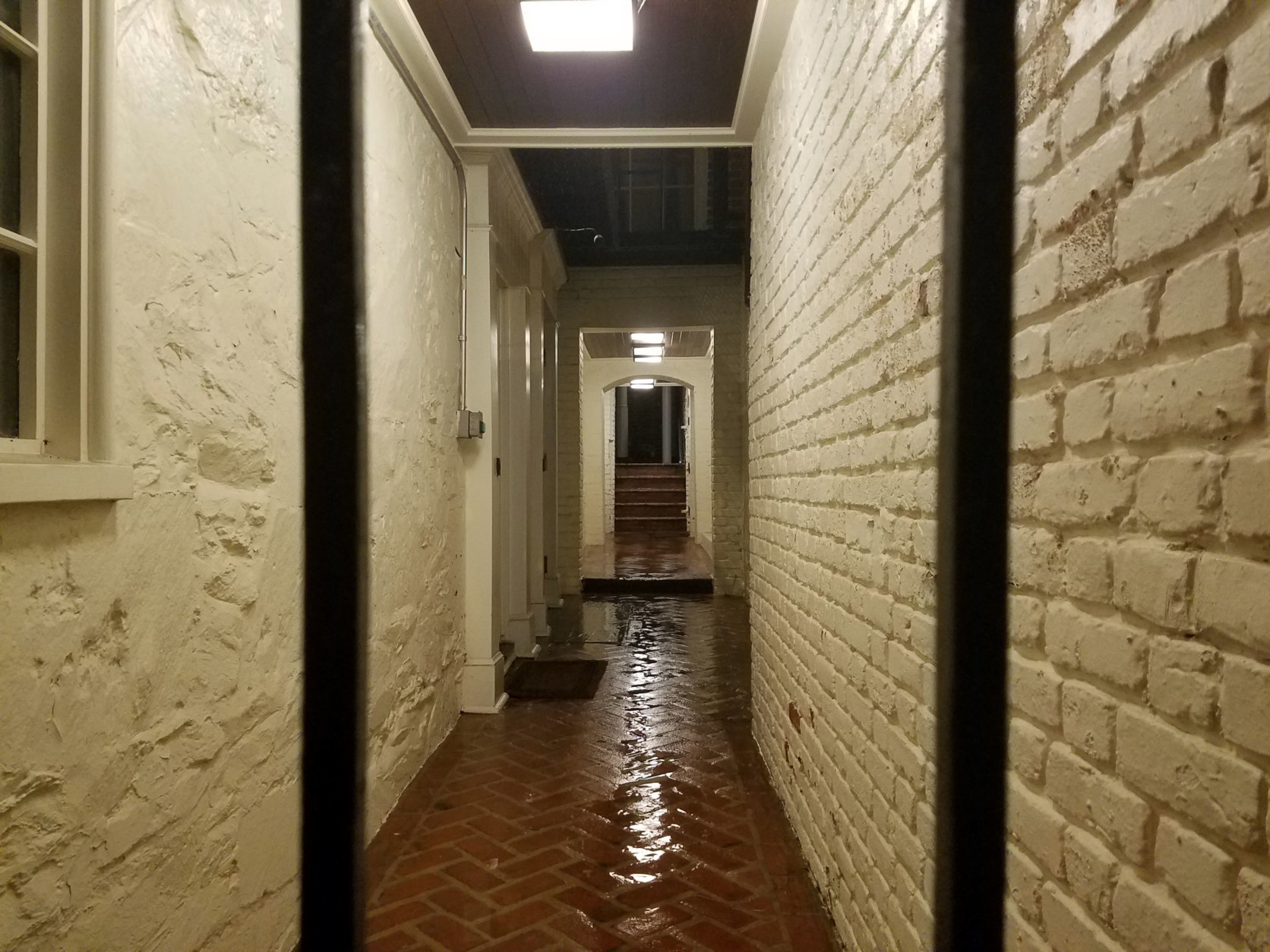 One of Halcyon House's alleyways. (WTOP/Will Vitka)