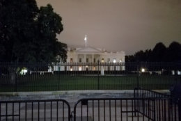 The White House has its share of ghostly tales as well. (WTOP/Will Vitka)