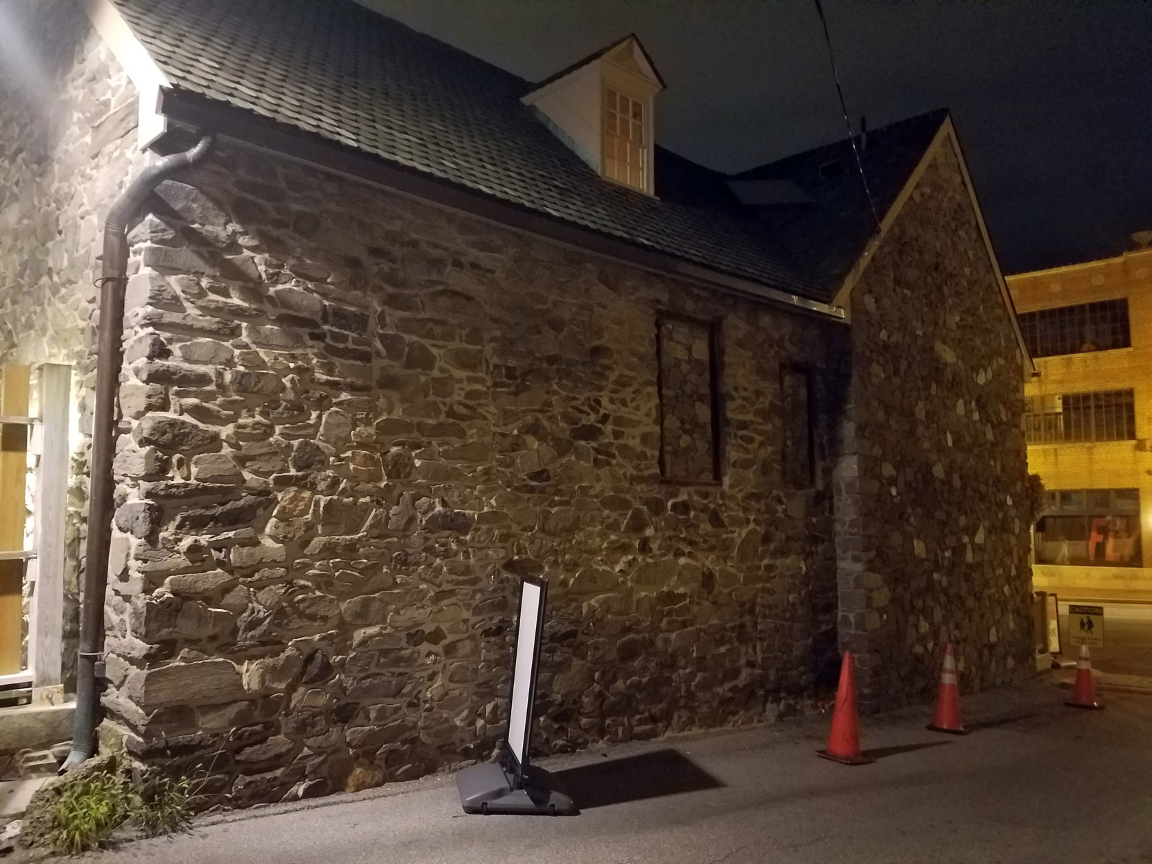 One of the ghosts said to haunt the Old Stone House is known for malicious behavior. (WTOP/Will Vitka)