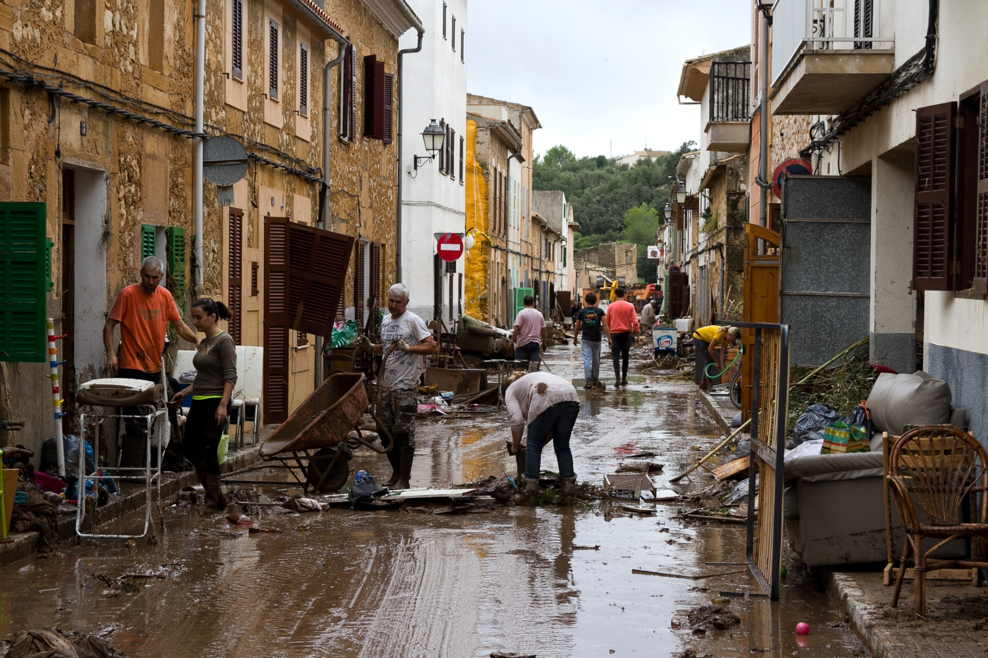 3 still missing after flooding on Spanish island of Mallorca