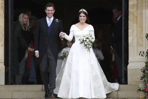 PHOTOS: Wedding of Princess Eugenie and Jack Brooksbank