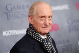 """Actor Charles Dance attends HBO's """"Game of Thrones"""" fourth season premiere at Avery Fisher Hall on Tuesday, March 18, 2014 in New York. (Photo by Evan Agostini/Invision/AP)"""