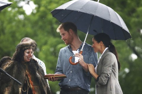 Harry and Meghan bring rain to drought-stricken Outback town