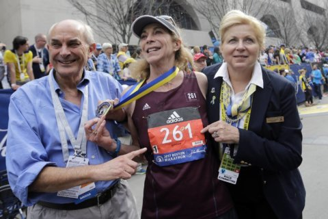 'Never too old to be an athlete': Husband and wife running icons join Marine Corps Marathon weekend