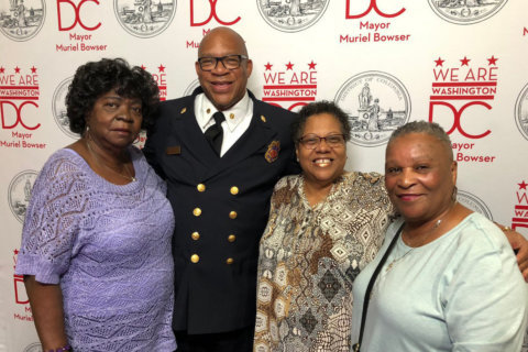 Seniors displaced by DC fire meet with rescuers, community helpers