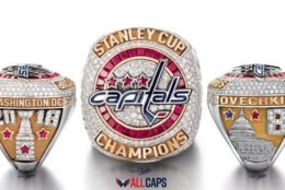 Jostens unveiled the NHL's 2018 Stanley Cup Championship ring Monday. (Courtesy Washington Capitals / Jostens)