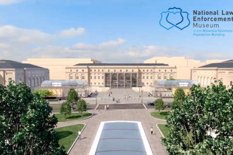 WATCH: Construction timelapse of the National Law Enforcement Museum