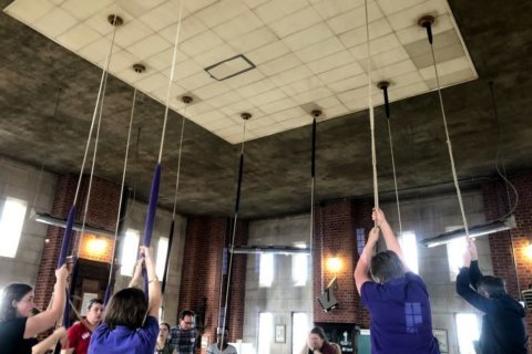 Washington National Cathedral hosts 'change-ringing' competition
