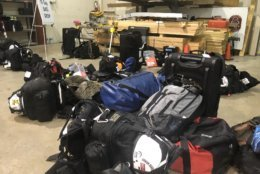 Montgomery County's FEMA search and rescue team is equipped round-the-clock for deployment, with bags ready to go on short notice. (WTOP/Melissa Howell)