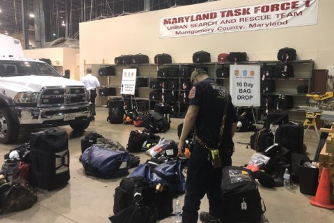 Maryland and Virginia water rescue teams deployed for Hurricane Michael