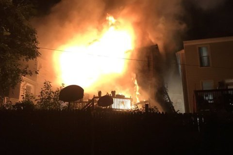 3 DC firefighters among 4 sent to hospital after Northeast house fire