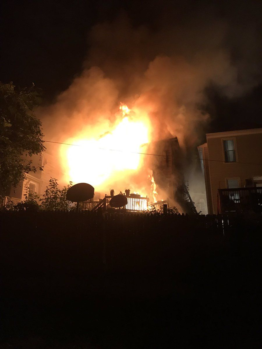 Fire officials did not name the cause of the fire. (Courtesy D.C. Fire and EMS)