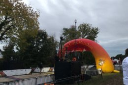 The Marine Corps Marathon started early Sunday morning. (WTOP/Sarah Beth Hensley)