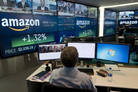 Amazon posts another record profit, but revenue disappoints