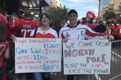 Caps' home opener: Red carpet event, outdoor viewing party among festivities
