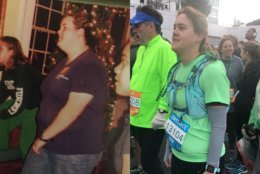 Candace Roberts has lost over 160 pounds and found a passion for running.  The Oct. 28 Marine Corps Marathon is not just a finish line to her, but one step on her journey of weight loss and running. (Courtesy Candace Roberts)