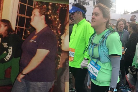 'Farther beyond that finish line': Md. woman's first marathon part of her weight loss journey