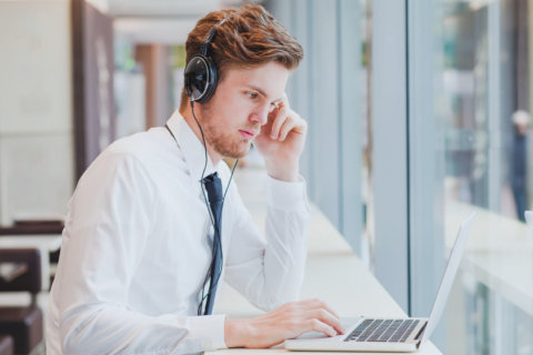 Listen to music at work? How not to annoy your co-workers