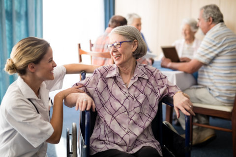 Is there a difference between nonprofit and for-profit senior care?