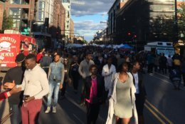 Festival goers walk down the H Street Corridor for the 2018 H Street Festival. (Courtesy WTOP Listener)