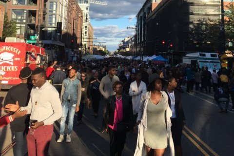 Thousands gather, stream along H Street for annual arts festival