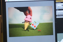 """On Oct. 28, the couple's latest animated short film, """"Magical Snack Time,"""" will premiere in New York at the Food Film Festival (last year's submission won the """"super short"""" category), and a few months ago, Liz and Jimmy released their second book with HarperCollins, called """"Sweet Success."""" (Courtesy Cuddles and Rage)"""