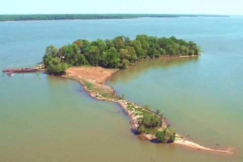 PHOTOS: Historic $15M island up for sale in Va.