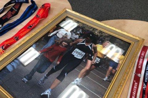 Cancer survivor prepares for the Marine Corps Marathon where her battle began 14 years ago