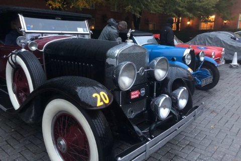 Historic cars tour the District in first-ever 1000 Miglia Warm Up USA