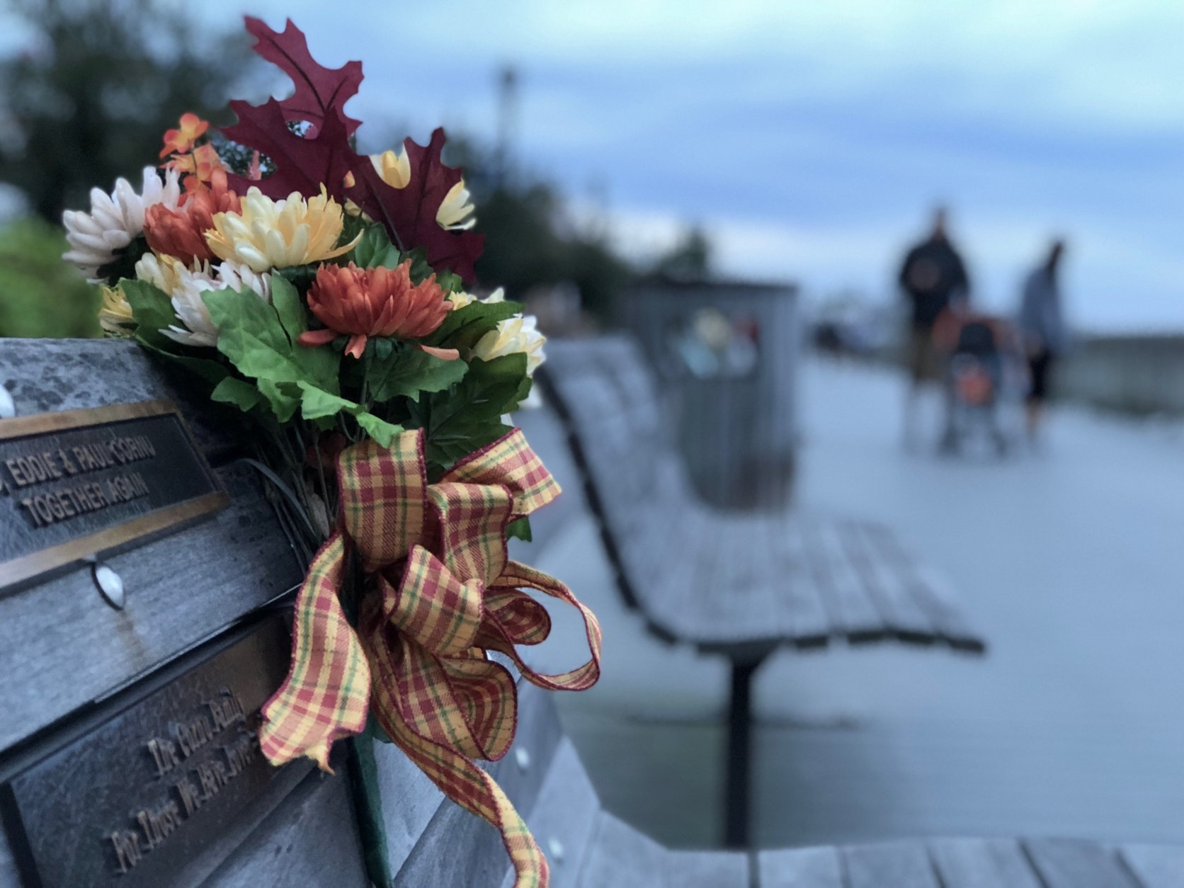Reporter Kate Ryan caught up with voters along the Chesapeake Beach boardwalk in Calvert County. She asked them what issues are most important to them this election (WTOP/Kate Ryan).
