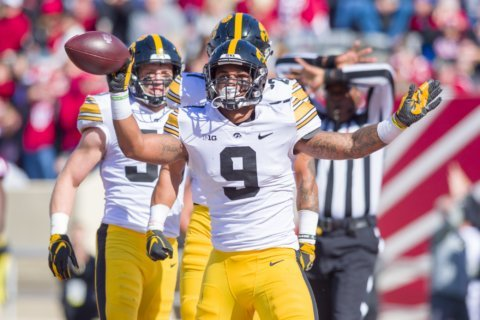 Surging No. 19 Iowa returns home to host talented Maryland