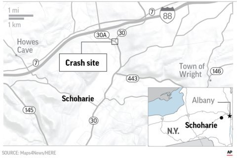 20 dead in crash of limo headed to a birthday celebration in NY